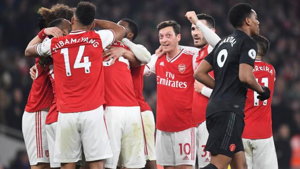 Arsenal impresses vs. Manchester United