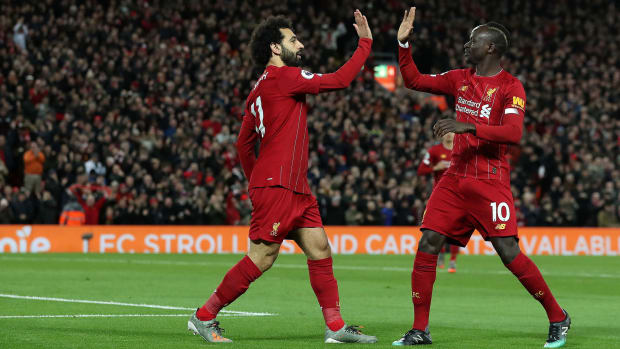 Mohamed Salah, Sadio Mane and Liverpool remain unbeaten in the Premier League