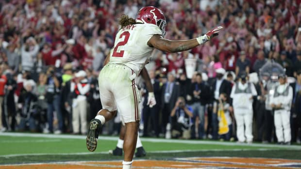 Alabama's Derrick Henry vs. Clemson