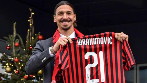 Zlatan Ibrahimovic is back with AC Milan