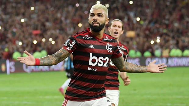 Gabriel Barbosa thrived for Flamengo