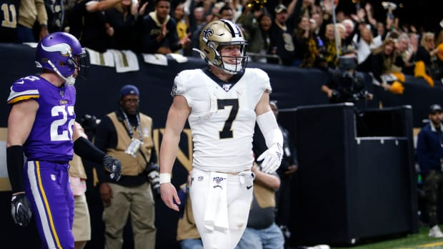 Taysom Hill made history with his NFC Wild Card performance.