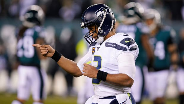 Seahawks Defeat Eagles Wild Card