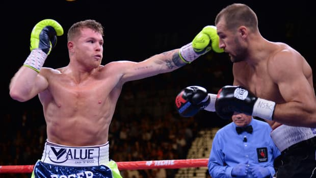 Canelo Alvarez is Sports Illustrated 2019 Fighter of the Year.