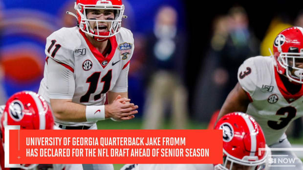 Georgia Quarterback Jake Fromm Declares for the NFL Draft