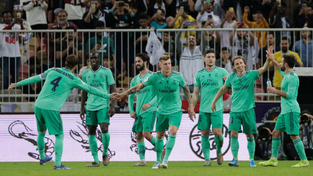 Real Madrid reaches the Spanish Super Cup final