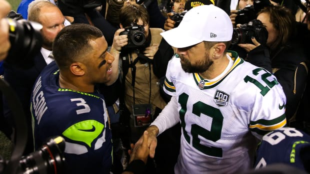 Russell Wilson, Aaron Rodgers