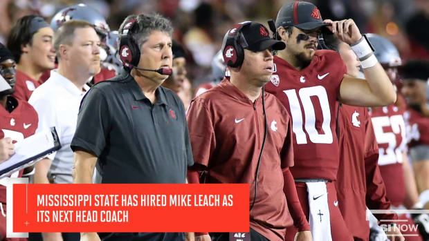 Mississippi State Hires Mike Leach as Its Next Head Coach
