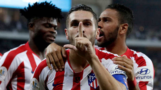 Atletico Madrid beats Barcelona in the Spanish Super Cup