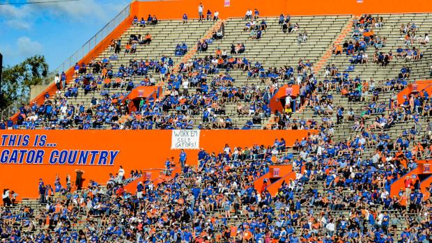 Florida Gators football attendance 2019