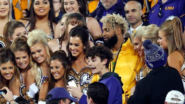 Odell Beckham Jr Gifts LSU Tigers