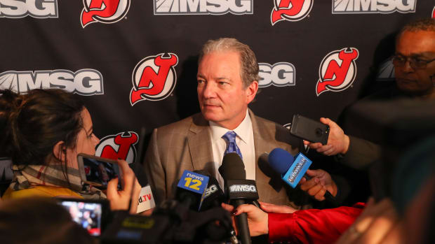 The Devils announced they are parting ways with general manager Ray Shero.