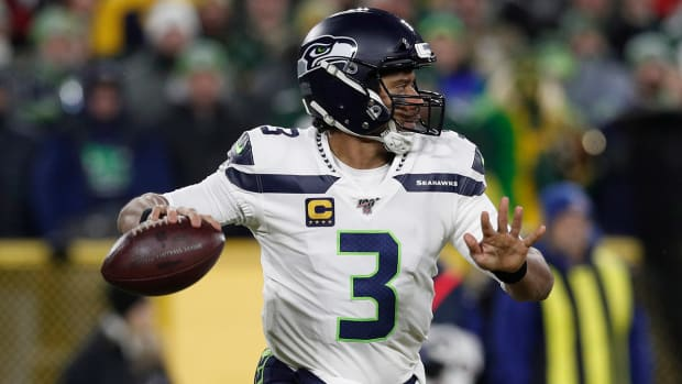 Russell Wilson Packers Seahawks