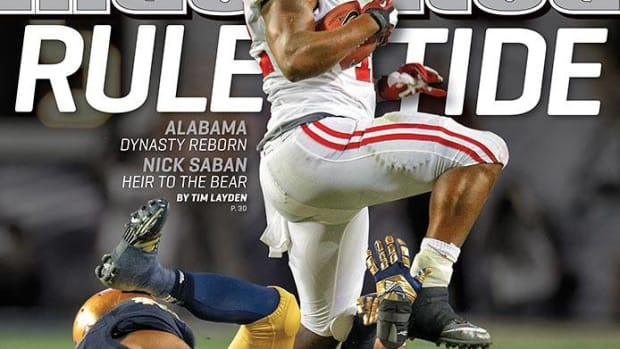 Sports Illustrated cover Eddie Lacy, January 14, 2013