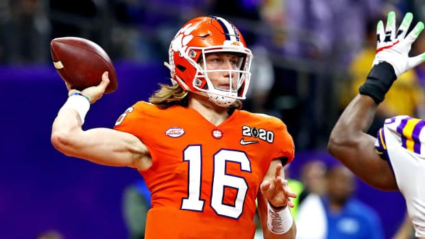 Clemson Trevor Lawrence college fotoball top 25 for 2020