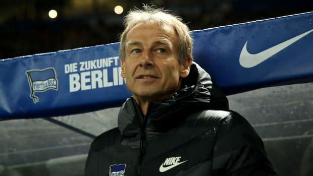 Jurgen Klinsmann quits Hertha Berlin