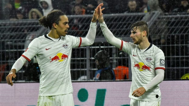 RB Leipzig is vying to win the Bundesliga