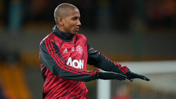 Ashley Young is headed to Inter Milan
