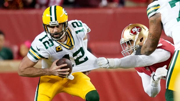 Aaron Rodgers vs. 49ers