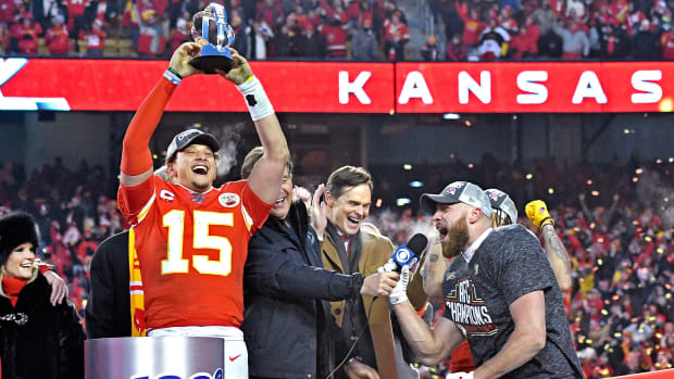 The Chiefs have opened as favorites over the 49ers in Super Bowl LIV.