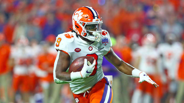 Clemson football Travis Etienne NFL draft