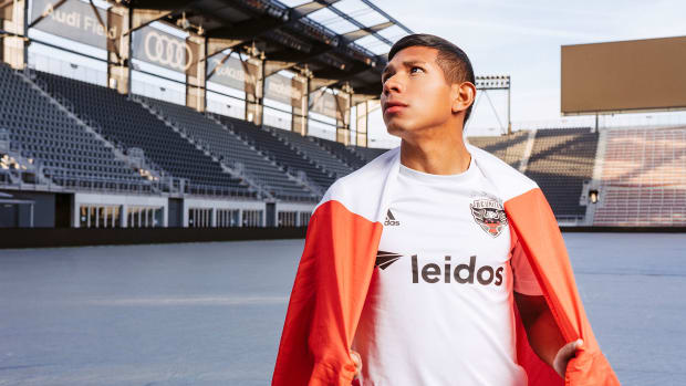 Edison Flores is D.C. United's new marquee player