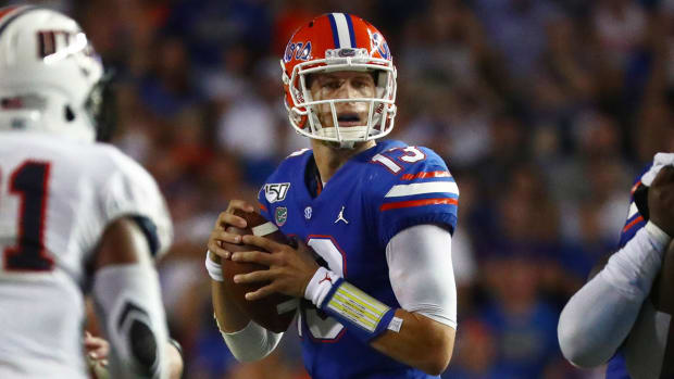 Feleipe Franks Transfer Arkansas