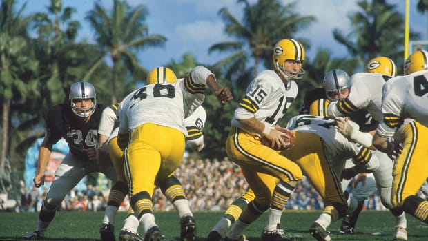 Bart Starr in Super Bowl II in Miami