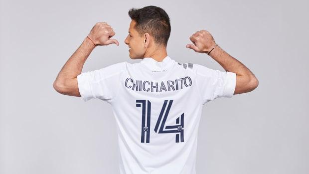Chicharito is the LA Galaxy's new star striker