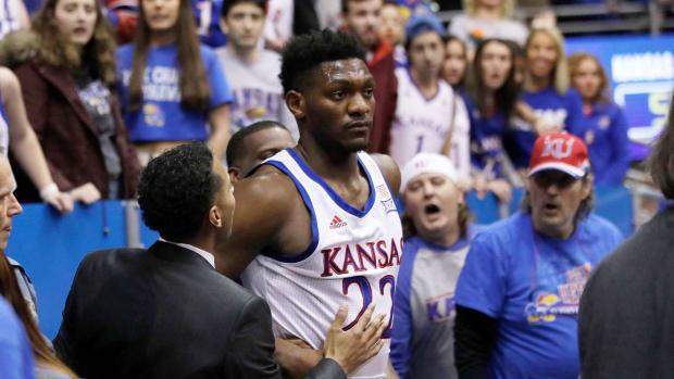 Kansas basketball brawl Silvio De Sousa