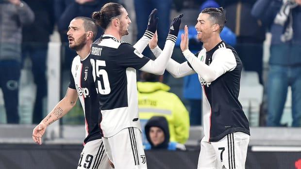 Cristiano Ronaldo scores again for Juventus