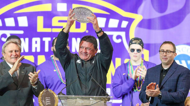 LSU Tigers Ed Orgeron contract raise