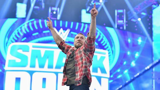 WWE's Daniel Bryan in the ring on SmackDown