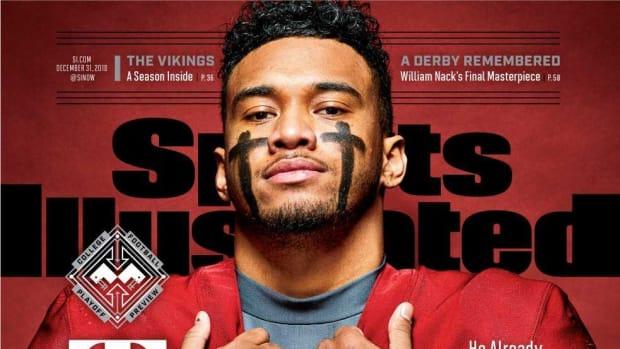 Tua Tagovailoa cover Sports Illustrated, Dec. 31, 2018