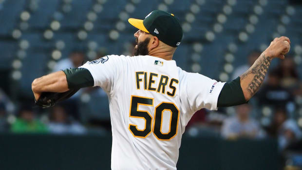 Mike Fiers Athletics Astros