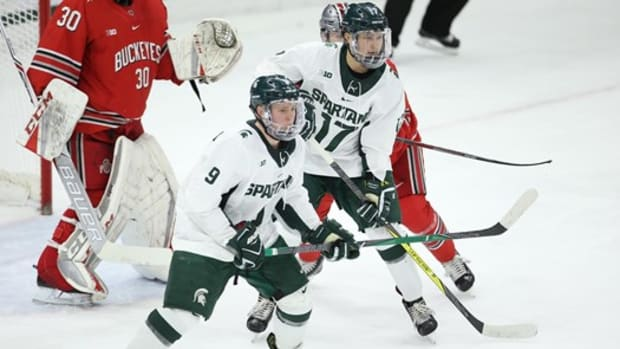 MSU HOCKEY VS OHIO STATE (PHOTO:  MSU SID)
