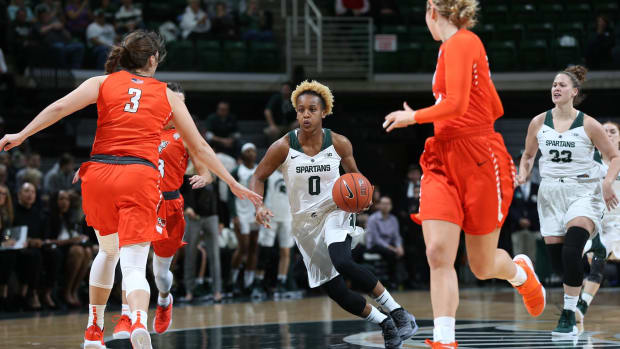 Michigan State Women's Basketball (PHOTO:  MSU SID)