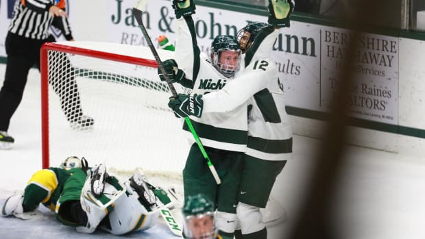 Michigan State hockey (MSU SID)