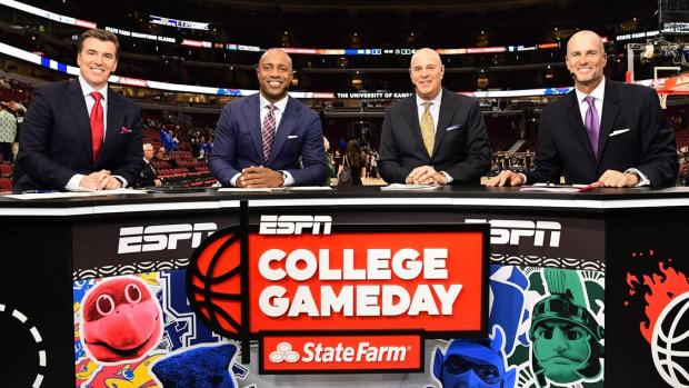 ESPN College GameDay Basketball (PHOTO:  MSU SID)