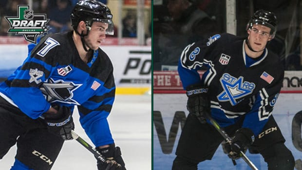 Incoming Freshmen Christian and Cole Krygier Selected in the NHL Draft (PHOTO:  MSU SID)