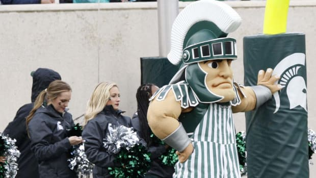 Sparty (PHOTO:  Starr Porticec)