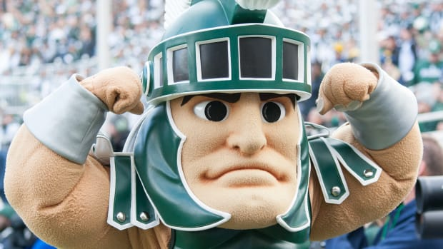 Sparty PHOTO:  Starr Portice)