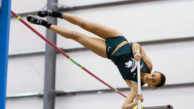 Michigan State Track and Field (PHOTO:  MSU SID)