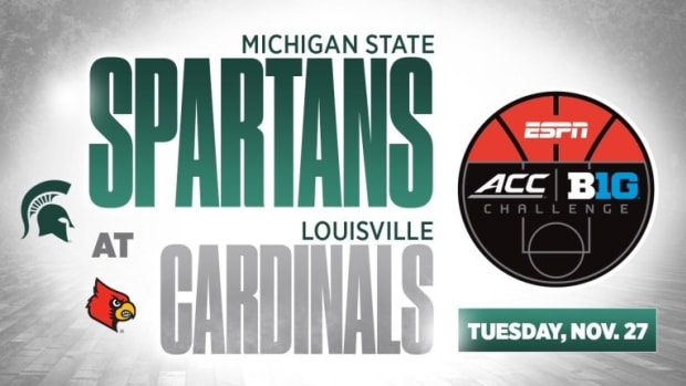 Michigan State to Play at Louisville in Big Ten/ACC Challenge (PHOTO:  MSU SID)