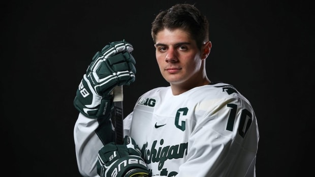 Sam Saliba (PHOTO:  MSU SID)