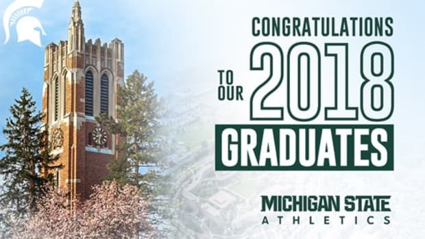 Forty Spartan Student-Athletes Set To Receive Degrees  (PHOTO:  MSU SID)