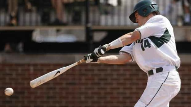Brandon Eckerle and the rest of the Michigan State baseball team will be looking to capture a championship this weekend.