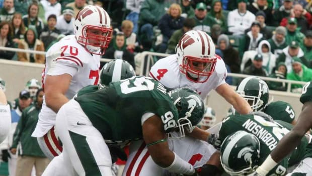 The Spartans defense must be better in 2011 for them to repeat as Big Ten Champs.  Photo courtesy of Bill Marklevits.