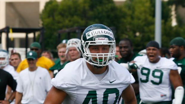 From a family of great players, Max Bullough may just be the best.  Photo courtesy of Starr Portice.