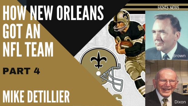 How New Orleans Got and NFL Team Part 4